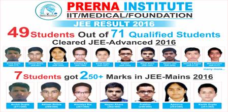 IIT JEE Result 2016
