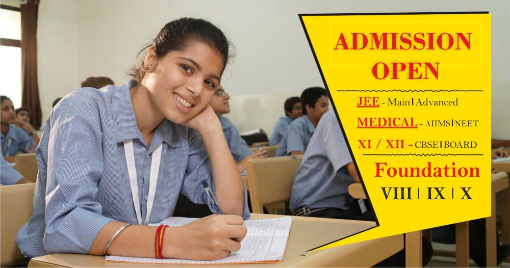 Admission Open - IIT JEE Coaching | NEET Coaching